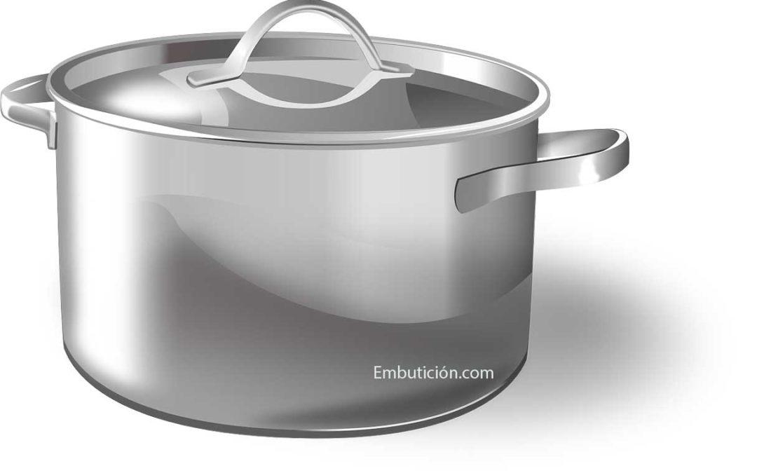 Pot fabriqué à partir d'aciers TRIP par emboutissage par une société spécialisée dans la fabrication de pièces